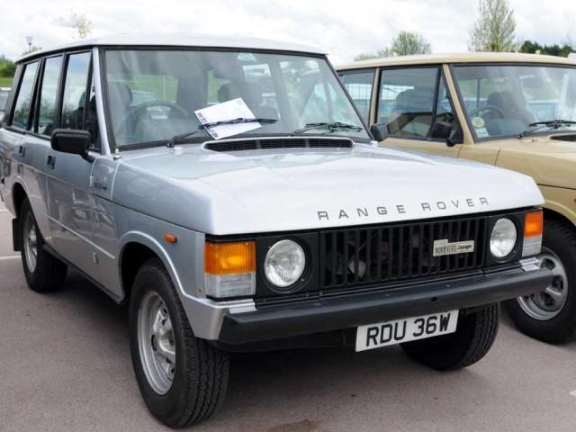 Range Rover Monteverdi (1980-1982)