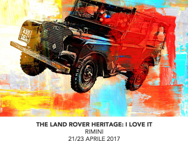 THE LAND ROVER HERITAGE: I LOVE IT