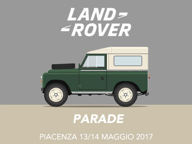 LAND ROVER PARADE 2017