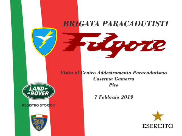 "Visita alla Brigata Paracadutisti ""FOLGORE"""