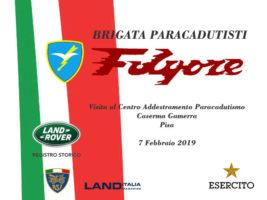 """Visita alla Brigata Paracadutisti """"FOLGORE"""" @ CAPAR – Centro Addestramento Paracadutismo"""