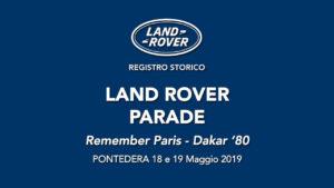 LAND ROVER PARADE @ Pontedera