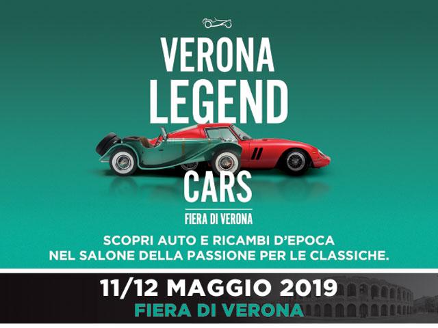 VERONA LEGEND CARS – VERONA, 11 e 12 MAGGIO 2019