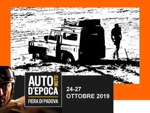 AUTOMOTO D'EPOCA – PADOVA 24-27 OTTOBRE 2019