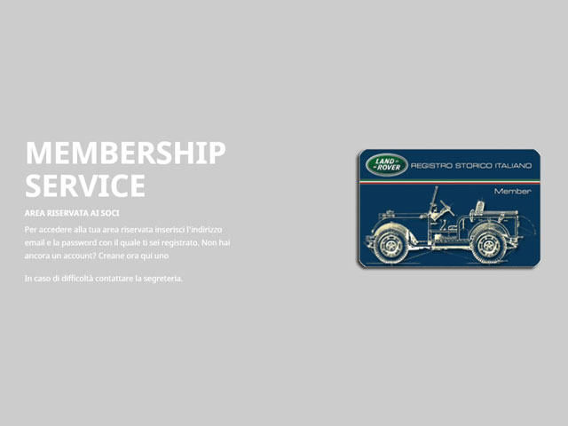Memberships Service